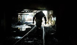 Devastating regulations and market shifts to more economical energy sources have reduced the number of coal miners in the U.S. to about 54,000, according to the latest Labor Department figures. (Associated Press)