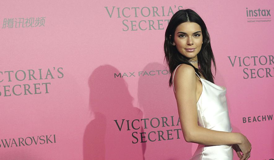 Kendall Jenner was born in Los Angeles, California, to retired Olympic decathlete champion Bruce Jenner (Caitlyn Jenner) and television personality Kris Jenner (AP Photo)
