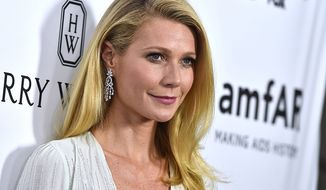 Gwyneth Paltrow was born on September 27, 1972 in Los Angeles, the daughter of actress Blythe Danner and film producer/director Bruce Paltrow. (AP Photo)