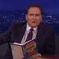"Norm MacDonald took a break from comedy Thursday to go on an hours-long tweetstorm praising President-elect Donald Trump and why he thinks the controversial Republican will one day be a ""beloved"" president. (YouTube/@Team Coco)"