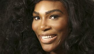 In a Monday, Sept. 12, 2016, file photo, Serena Williams speaks to reporters before showing her Serena Williams Signature Statement Spring 2017 collection during Fashion Week in New York. Williams announced her engagement to Alexis Ohanian on Thursday, Dec. 29, 2016, posting a poem on Reddit that she accepted the proposal of the social news website's co-founder. (AP Photo/Seth Wenig, File)