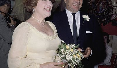 Ethel Merman's fourth and final marriage was to actor Ernest Borgnine. They were married in Beverly Hills on June 27, 1964. They separated on August 7 and Borgnine filed for divorce on October 21. Merman filed a cross-complaint shortly thereafter charging Borgnine with extreme cruelty. She was granted a divorce on November 18, 1964