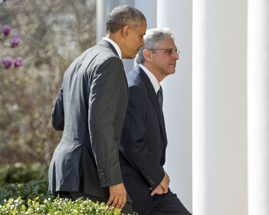 President Obama still has one last chance to try and force Merrick Garland onto the Supreme Court. (Associated Press)