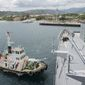 The Subic Bay military base in the Philippines, where the U.S. maintains a hefty presence, may be transformed to a more active facility if tensions with China turn hot during the Trump administration, as the alliance with the Philippines is on uncertain ground. (U.S. Navy)