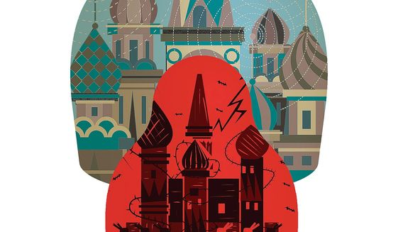 The Old Soviet Union Illustration by Linas Garsys/The Washington Times