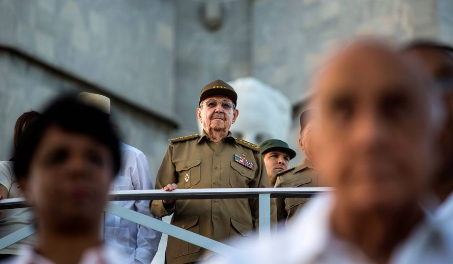 Cuban President Raul Castro and his government have benefited more than his people from the Obama administration's detente. (Associated Press)