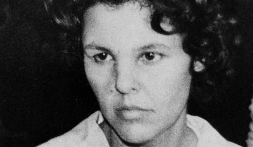 Judith Clark, a former Weather Underground member shown here in 1981, has served 35 years of a 75-years-to-life sentence for her role in the $1.6 million robbery at a mall in suburban Rockland County. (Associated Press)