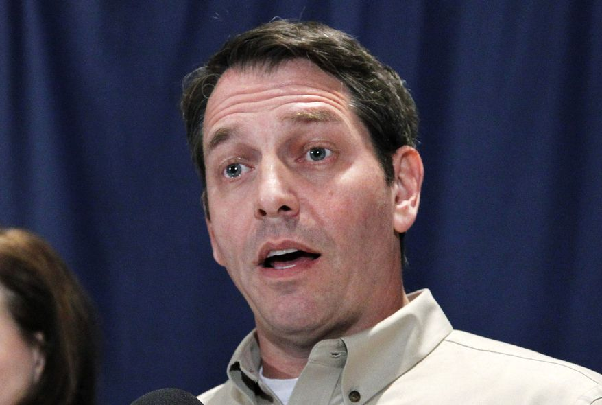 """""""That second clause of Article V was specifically intended for a time like this, when the federal government gets out of control and when the Congress won't deliver to the people what they want,"""" said Mark Meckler, a tea party leader who now heads Citizens for Self-Governance, which runs the Convention of States Project calling for an Article V convention. (Associated Press)"""