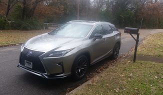 Lexus did some work on the RX 450h in 2016 and made some styling changes, also adding key safety improvements. (Photo by Rita Cook)
