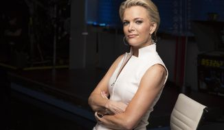 FILE - In this May 5, 2016 file photo, Megyn Kelly poses for a portrait in New York. Kelly, the Fox News star whose 12-year stint has been marked by upheavals at her network and personal attacks on the campaign trail, is headed to NBC News. She is expected to take on a multi-faceted role at NBC.  (Photo by Victoria Will/Invision/AP, File)