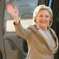 Former Democratic presidential candidate Hillary Clinton. (Associated Press) ** FILE **