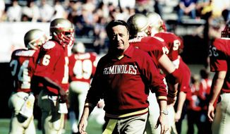 Coach Bobby Bowden of the Florida State Seminoles.  (Fathom Events)