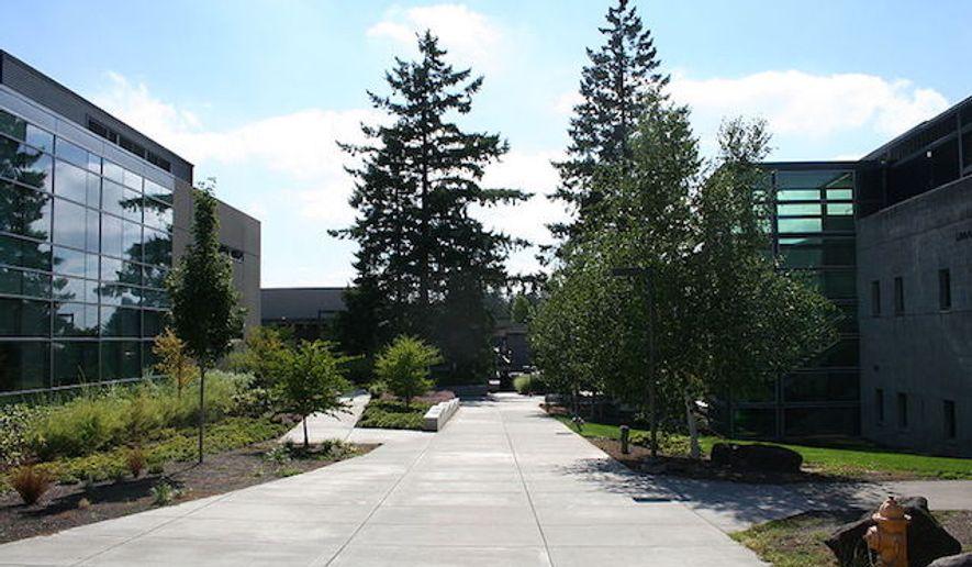 Entrance to Portland Community College in Portland, Oregon. (Wikipedia)