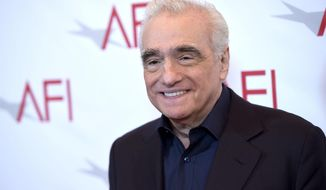 Martin Scorsese arrives at the AFI Awards at the Four Seasons Hotel on Friday, Jan. 6, 2017, in Los Angeles in this file photo. (Photo by Chris Pizzello/Invision/AP) **FILE**
