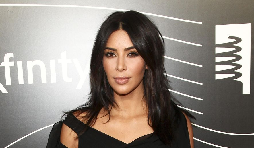 "Kim Kardashian West attends the 20th Annual Webby Awards in New York in this May 16, 2016, file photo. Kardashian who has been laying low in a New York City apartment building since her robbery at gunpoint in Paris in October, breaks her silence in a new teaser for the family's reality show, ""Keeping Up with the Kardashians,"" returning in March. (Photo by Andy Kropa/Invision/AP, File)"