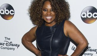"FILE - In this May 14, 2014 file photo, Sherri Shepherd attends ""A Celebration of Barbara Walters"" in New York. Shepherd apologized on Jan. 6, 2017, for sharing video about a fight at the funeral of comedian and actor Ricky Harris. (Photo by Charles Sykes/Invision/AP, File)"