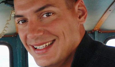 FILE - This undated file photo obtained from the family of Austin Tice, shows American freelance journalist Austin Tice, who was taken hostage in Syria in 2012. Tice's parents were told in late 2016 by U.S. officials that they have high confidence their son is alive in Syria. (Family of Austin Tice via AP, File)
