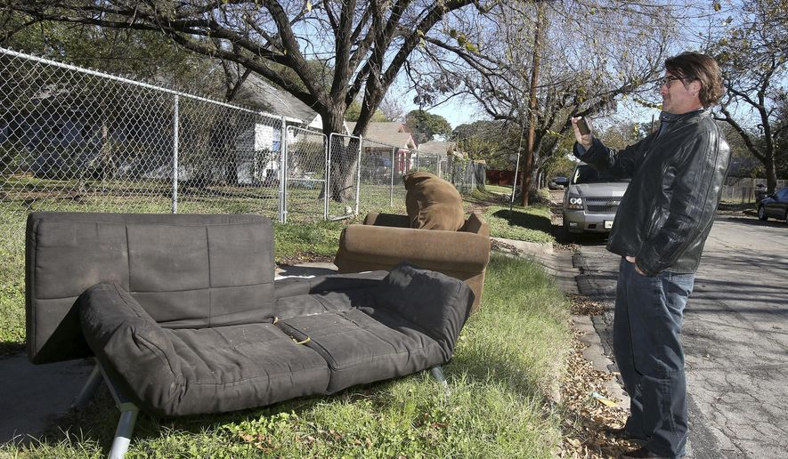Series About Waco Couches Offers Odd Views Of Furniture   Washington Times