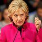 Hillary Clinton. (Associated Press)