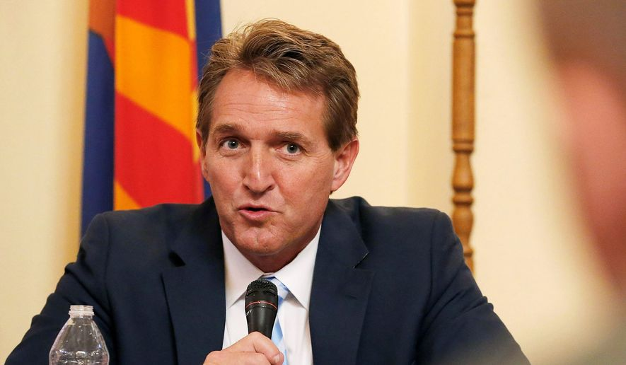 The 2017 Wastebook, run by Arizona Sen. Jeff Flake counts three fish projects involving taxpayers paying to have fish exercises on treadmill-like objects. (Associated Press)