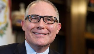 Environmental lobbyists plan to turn up the head against Environmental Protection Agency (EPA) Administrator-designate Scott Pruitt, a climate change denier, as his confirmation hearings loom. (Associated Press)