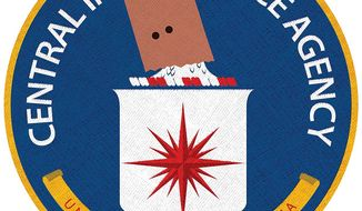 The Disgrace of the CIA Illustration by Linas Garsys/The Washington Times