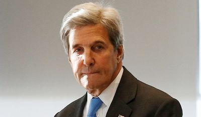 Little attention has been paid to Secretary of State John F. Kerry's discussion about a strategy to use the Islamic State's growing presence in Syria and Iraq as leverage to pressure Bashar Assad.