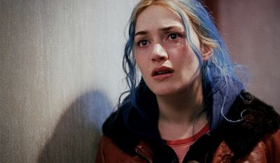 Kate Winslet, Eternal Sunshine of the Spotless Mind (2004) a film about an estranged couple who have erased each other from their memories. The film was written by Charlie Kaufman and directed by Michel Gondry. Kaufman and Gondry wrote the story with Pierre Bismuth. The ensemble cast includes Jim Carrey, Kate Winslet, Kirsten Dunst, Mark Ruffalo, Elijah Wood and Tom Wilkinson. Featuring elements of psychological thriller and a nonlinear narrative to explore the nature of memory and romantic love. The film won the Academy Award for Best Original Screenplay, and Winslet received an Academy Award nomination for Best Actress eventually losing to Hilary Swank, Million Dollar Baby