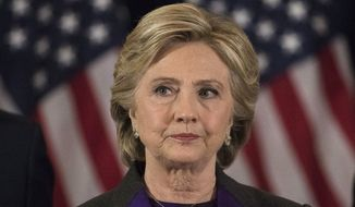 As secretary of state, Hillary Clinton conducted her email business on a private server maintained at her New York home. Some of the thousands of emails contained classified information, the FBI determined. (Associated Press)