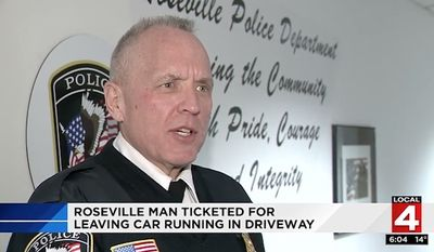 Roseville Police Chief James Berlin (WDIV)