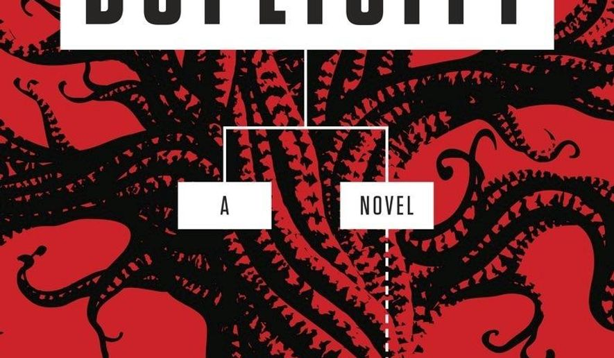 """This image provided by Penguin Random House shows the book cover of """"Duplicity"""" by Ingrid Thoft.  (Penguin Random House via AP)"""