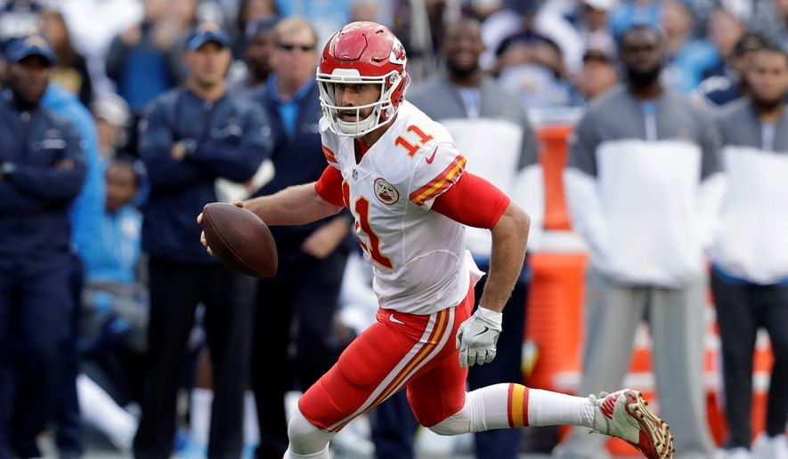 Kansas City Chiefs quarterback Alex Smith is consistent and rarely makes mistakes. But when it comes to the playoffs, he becomes an entirely different player, bordering on elite. (Associated Press)