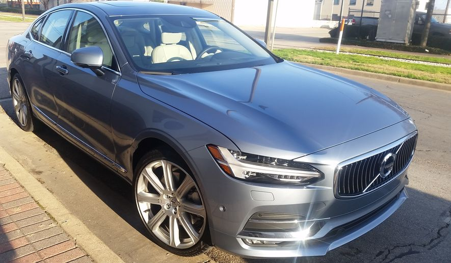 the 2017 volvo s90 replaces the outgoing s80 photo rita cook. Black Bedroom Furniture Sets. Home Design Ideas