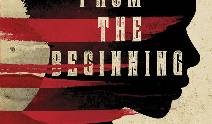 "CORRECTS SPELLING OF LAST NAME FROM KENDY TO KENDI - This cover image released by Nation Books shows, ""Stamped from the Beginning: The Definitive History of Racist Ideas in America,"" winner of the National Book Award, by Ibram X. Kendi. (Nation Books via AP)"