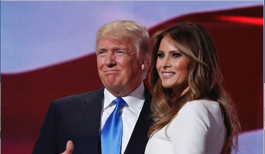 President-elect Donald Trump and incoming first lady Melania Trump are both comfortable on the global stage and bring style and chutzpah. (Associated Press)