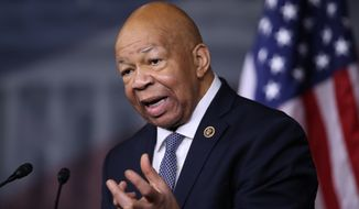 """The Congressional Black Caucus has always been the conscience of the Congress, and I think we will continue to be that, and I think you are going to find the CBC fighting along with other Democrats for the soul of our Democracy,"" said Rep. Elijah Cummings of Maryland. (Associated Press)"