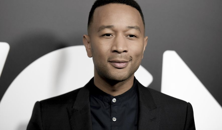 "John Legend attends a photo call for WGN America's ""Underground"" at the CTAM portion of the 2017 Winter Television Critics Association press tour on Friday, Jan. 13, 2017, in Pasadena, Calif. (Photo by Richard Shotwell/Invision/AP)"