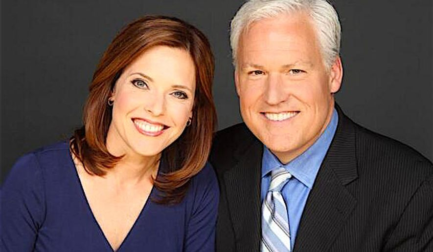 Matt Schlapp, chairman of the American Conservative Union, and his wife Mercedes Schlapp, a columnist and Fox News contributor.
