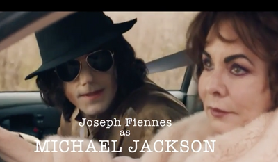 "Joseph Fiennes portraying Michael Jackson, as depicting here in a teaser trailer for Sky TV's ""Urban Myths."" Following significant backlash including criticism from the Jackson family, on Jan. 13, 2017 the British network announced it would not air the controversial episode. (Screen capture via YouTube)"
