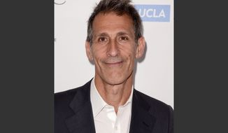 "FILE - In this April 25, 2014 file photo, Michael Lynton, chairman and CEO, Sony Pictures Entertainment, arrives at the 19th annual ""Taste For A Cure"" at the Beverly Wilshire Hotel, in Beverly Hills, Calif. Two years after guiding the company through an unprecedented corporate hack, Lynton is leaving the company to become the chairman of the board for Snap Inc. Sony said Friday, Jan. 13, 2017, that Lynton, a 13-year Sony veteran who led both the music and entertainment group, will stay on for six months to ensure a smooth transition as Sony Corporation's President and CEO Kazuo Hirai looks for a replacement. (Photo by Dan Steinberg/Invision/AP, File)"