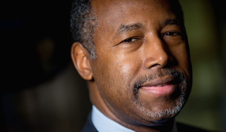 Dr. Ben Carson (Associated Press)