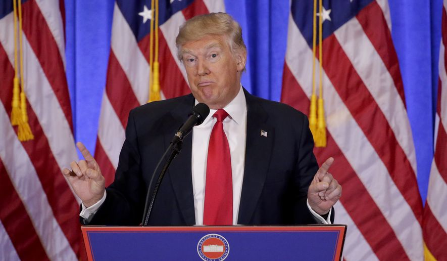 President Trump has pointed out that many of our NATO allies don't pay enough for the collective defense. (Associated Press/File)
