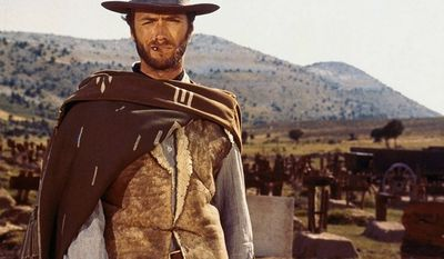 The Good, the Bad and the Ugly is a 1966 Italian epic Spaghetti Western film directed by Sergio Leone, starring Clint Eastwood, Lee Van Cleef, and Eli Wallach in the title roles respectively. The film is known for Leone's use of long shots and close-up cinematography, as well as his distinctive use of violence, tension, and stylistic gunfights. The plot revolves around three gunslingers competing to find fortune in a buried cache of Confederate gold amid the violent chaos of the American Civil War (specifically the New Mexico Campaign in 1862), while participating in many battles and duels along the way. The film was the third collaboration between Leone and Clint Eastwood, and the second with Lee Van Cleef. The Good, the Bad and the Ugly was marketed as the third and final installment in the Dollars Trilogy, following A Fistful of Dollars and For a Few Dollars More. The film was a financial success, grossing over $25 million at the box office. Because of general disapproval of the Spaghetti Western genre at the time, critical reception of the film following its release was mixed, but it gained critical acclaim in later years. The Good, the Bad and the Ugly is now seen as a highly influential example of the Western film genre and one of the greatest films of all time.