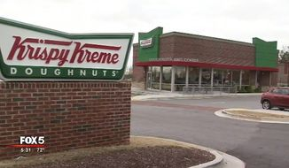 "Krispy Kreme has apologized to the Smyrna Police Department in Georgia after employees at the store on South Cobb handed an on-duty officer a doughnut box with ""Black Lives Matter"" scrawled on top. (FOX 5)"