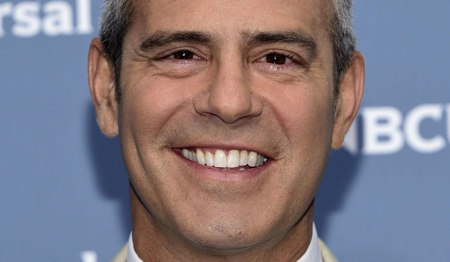 "FILE - This May 16, 2016 file photo shows Andy Cohen at the NBCUniversal 2016 Upfront Presentation in New York. Cohen appeared at the 2017 Winter Television Critics Association press tour on Tuesday, Jan. 17, 2017, in Pasadena, Calif., and answered questions about his Bravo TV talk show, ""Watch What Happens Live."" (Photo by Evan Agostini/Invision/AP, File)"