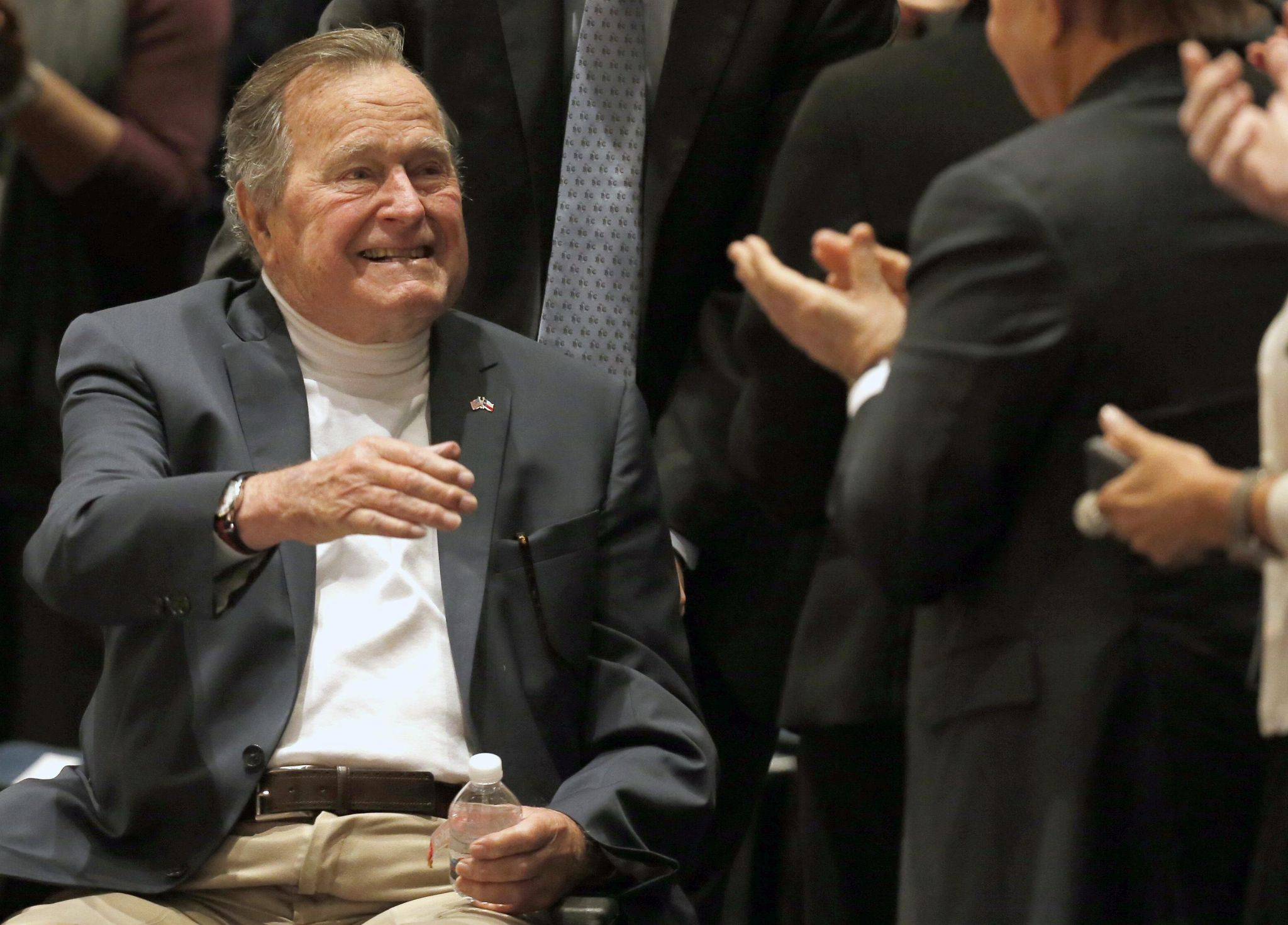 George H.W. Bush 'sexually assaulted me' -- holy cow