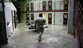 The U.S. detention facility at Guantanamo is relatively empty these days, but the population is likely to rise during the Trump administration. (Associated Press)