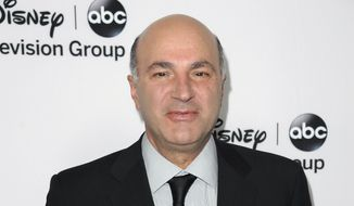 In this Jan. 10, 2013, file photo, Kevin O'Leary attends the Disney ABC Winter TCA Tour in Pasadena, Calif. (Associated Press) ** FILE **
