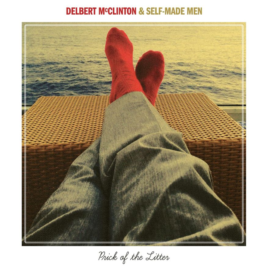 """This cover image released by Hot Shot Records/Thirty Tigers shows """"Prick of the Litter,"""" the latest release by Delbert McClinton and Self-Made Men. (Hot Shot Records/Thirty Tigers via AP)"""