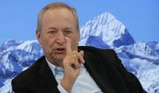 U.S. economist Larry Summers speaks during a panel on the second day of the annual meeting of the World Economic Forum in Davos, Switzerland, Wednesday, Jan. 18, 2017. (AP Photo/Michel Euler) ** FILE **